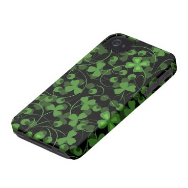 Lucky Clovers iPhone 4 Cover