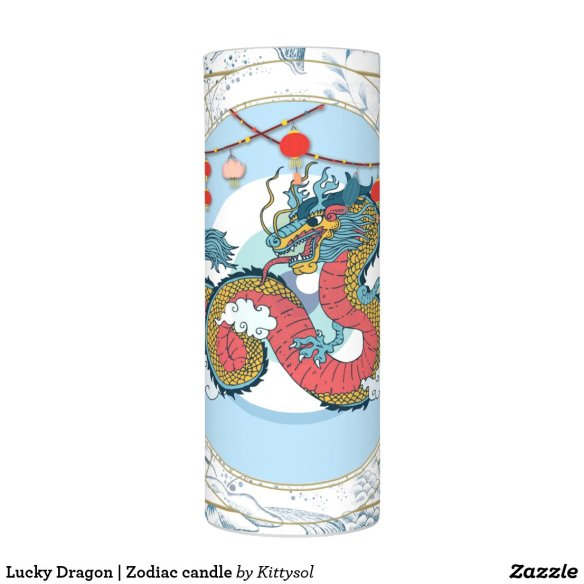 Lucky Dragon | Zodiac candle