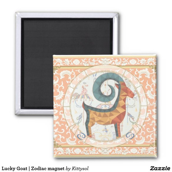 Lucky Goat | Zodiac magnet