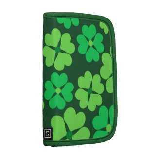 Lucky green clovers planner