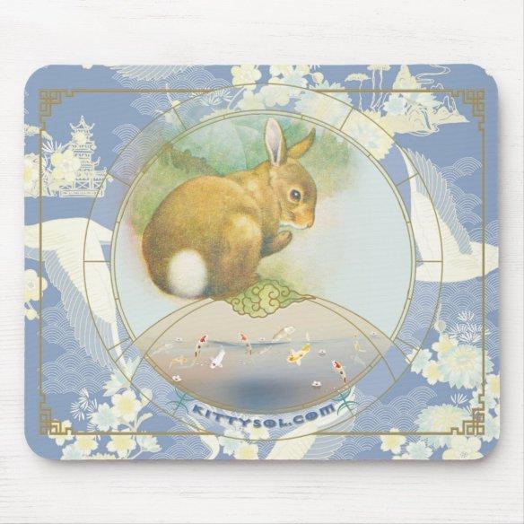 Lucky Hare | Zodiac mousepad