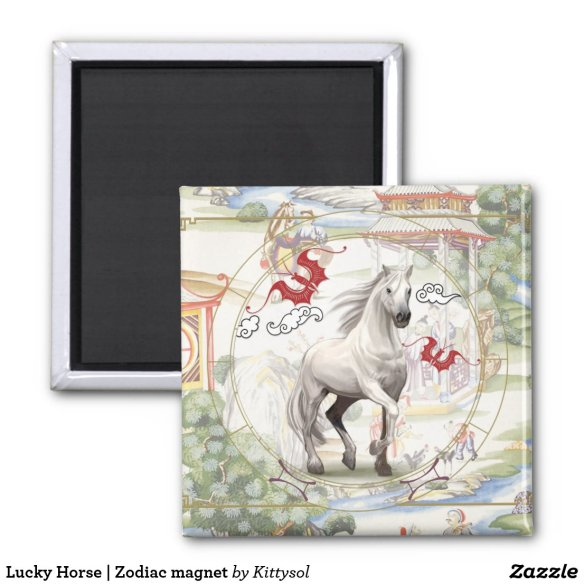 Lucky Horse | Zodiac magnet