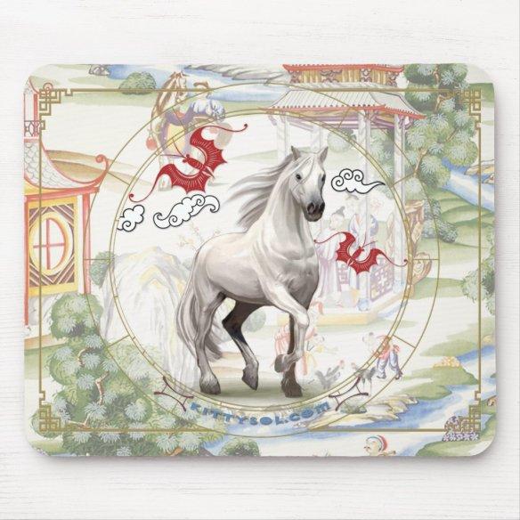 Lucky Horse | Zodiac mousepad