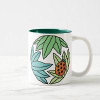Lucky Ladybug - coffee tea mug