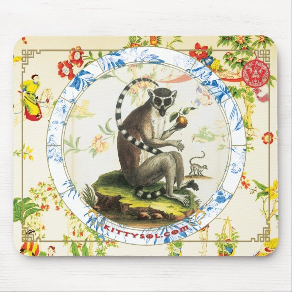Lucky Monkey | Zodiac mousepad