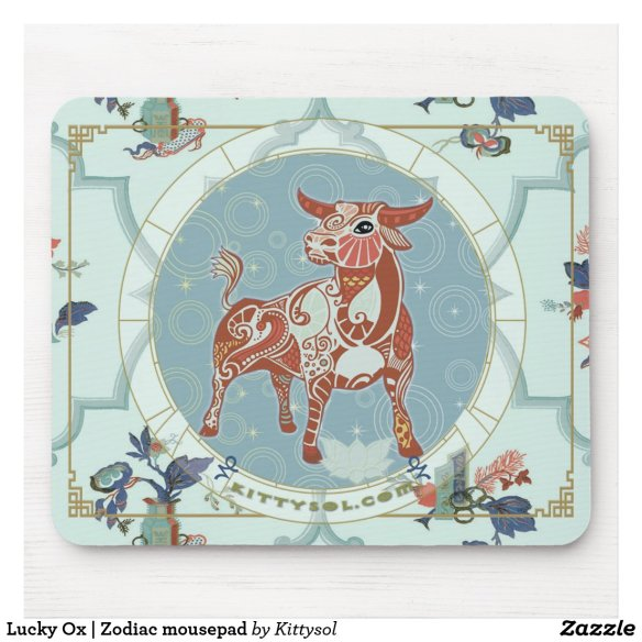 Lucky Ox | Zodiac mousepad