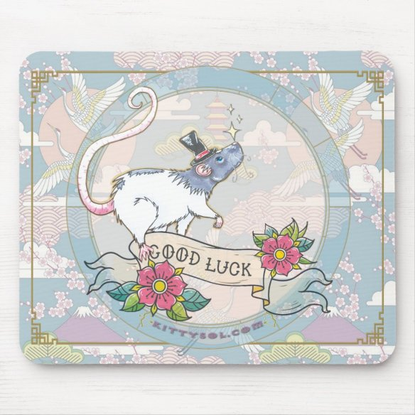 Lucky Rat | Zodiac mouse pad