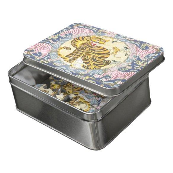 Lucky Tiger | Zodiac puzzle