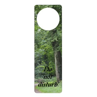 Lush Green Forest Door Knob Hangers