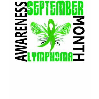 Lymphoma Awareness Month shirt