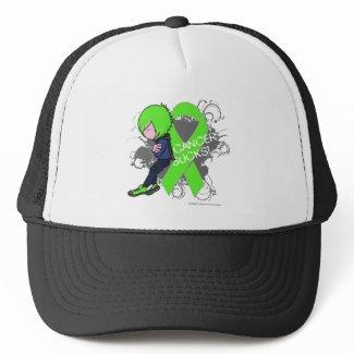 Lymphoma Cancer Sucks (Boy) hat