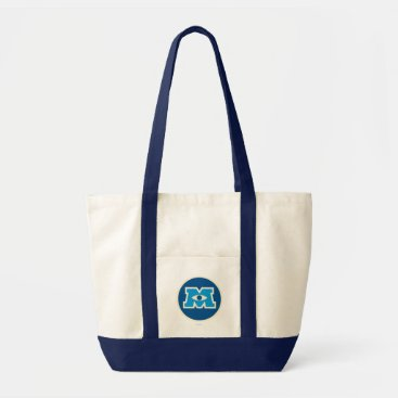M Circle Logo Tote Bag