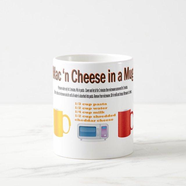Macaroni | Cheese in a Mug Microwave Recipe