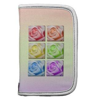 Macro Rainbow Roses rickshawfolio