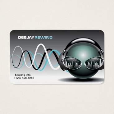 Dj business cards eatlovepray mad beats dj business cards colourmoves