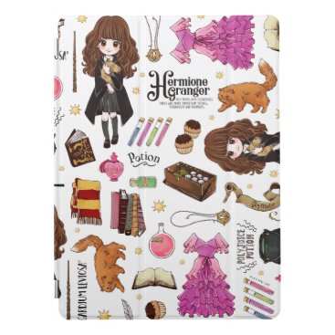 Magical Hermione Granger Watercolor iPad Pro Cover
