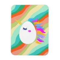 Magical Unicorn Eggs Magnet