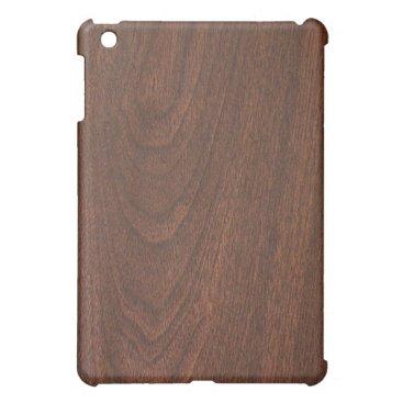 Mahogany Cherry wood pattern Cover For The iPad Mini
