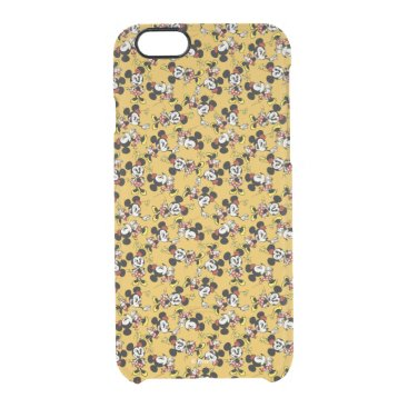 Main Mickey Shorts | Minnie Mouse Yellow Pattern Clear iPhone 6/6S Case