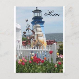 Maine Postcard postcard