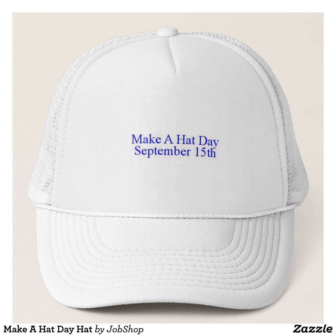 Make A Hat Day Hat