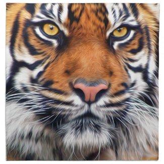 Male Siberian Tiger Napkin