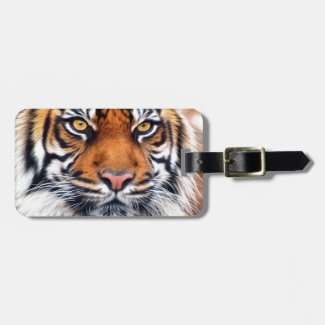 Male Siberian Tiger Tags For Bags