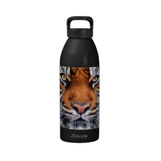 Male Siberian Tiger Water Bottles