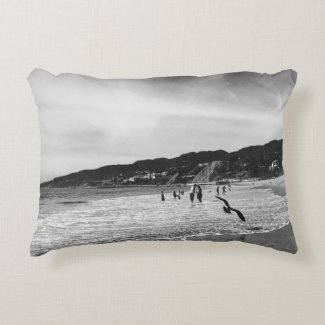 "MALIBU Cotton Accent Pillow 16"" x 12"""