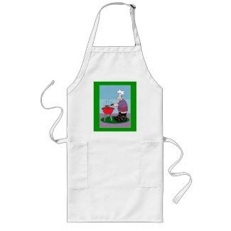 man grilling apron apron