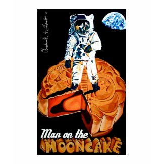 Man on the Mooncake T-Shirt shirt