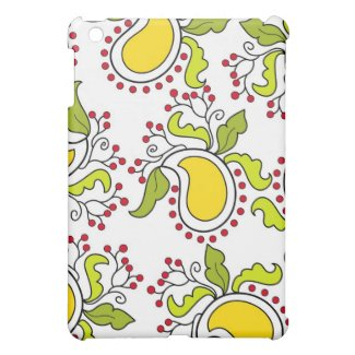 Mango and leaves - iPad case