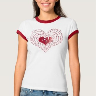 Many Languages of Love Shirt shirt