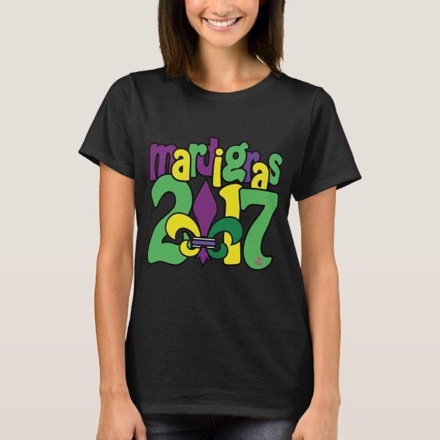 Mardi Gras 2017 T Shirt