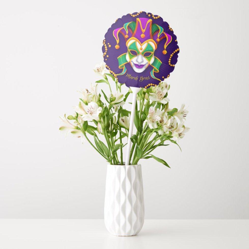 Mardi Gras Balloon