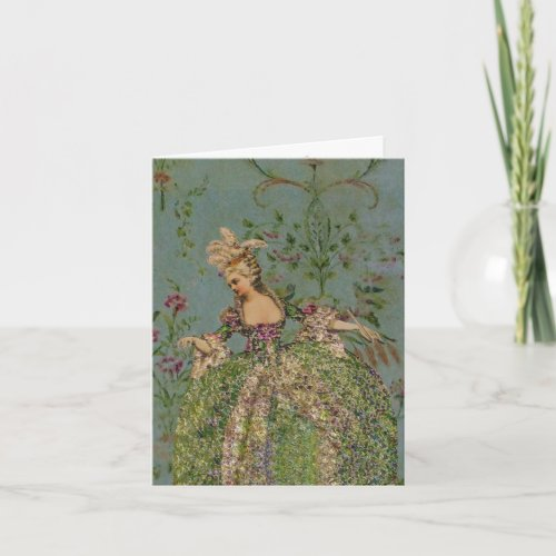 Marie Antoinette SIZE &amp&#x3B; PAPER OPTIONS - Card