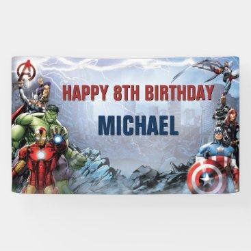Marvel | Avengers - Birthday Banner