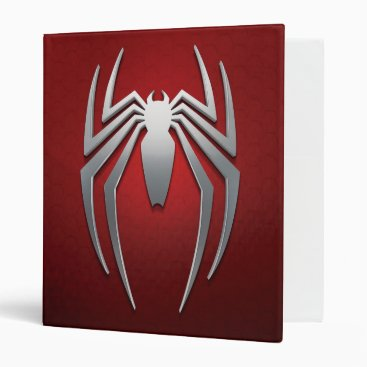 Marvel's Spider-Man | Metal Spider Emblem 3 Ring Binder