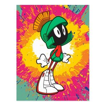 Marvin Standing On Heels Postcard