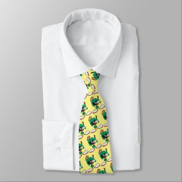 Marvin with Laser Pointed Up Neck Tie