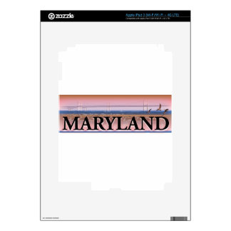 Maryland Chesapeake Bay Scene Decal For iPad 3