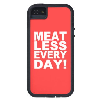 Meatless Everyday iPhone 5 Cover