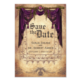 Meval Wedding Save The Date Invitation