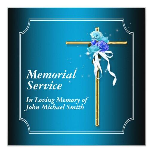Funeral Service Announcement