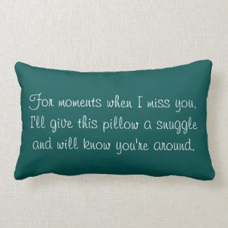 "Memory ""Always with Me"" Pillow"