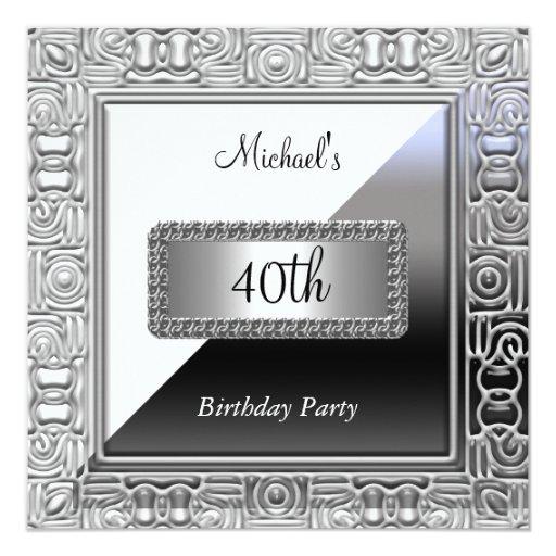 Unique Birthday Invitation Card