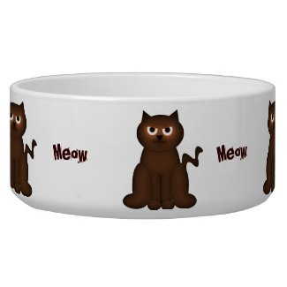 Meow Kitty Bowl petbowl