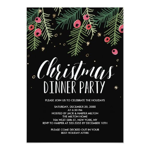 Merry Berry Collection Invitation