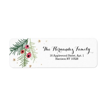 Merry Berry Collection Label