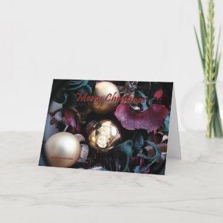 Merry Christmas - Customizable Card